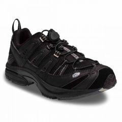 Dr. Comfort Black Performance Athletic Men's Shoe