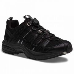 Dr. Comfort Black Refresh Women's Athletic Shoes