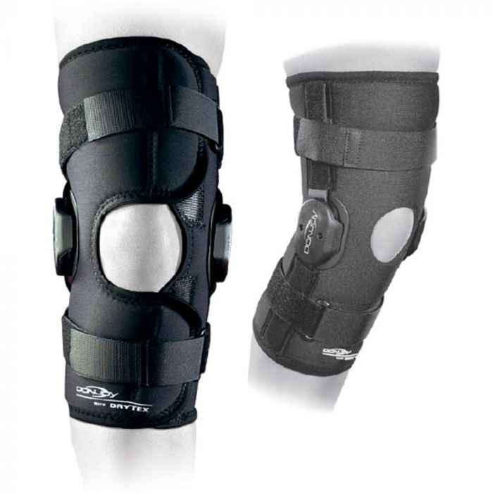 f1a92065d5 DonJoy Deluxe Hinged Knee Brace with Popliteal Cut Out